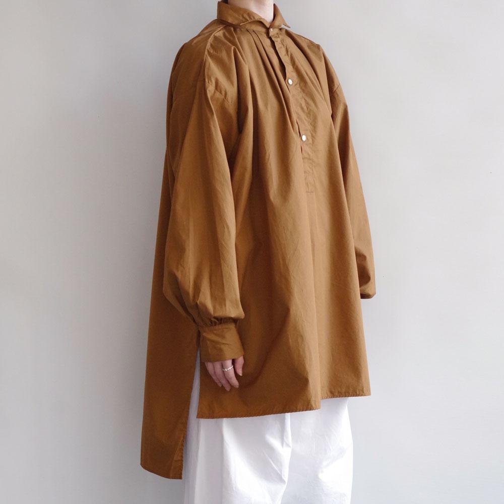 ギャレゴデスポート GALLEGO DESPORTES : Antik style red-cross shirt ウェーブカラーシャツ(gold)