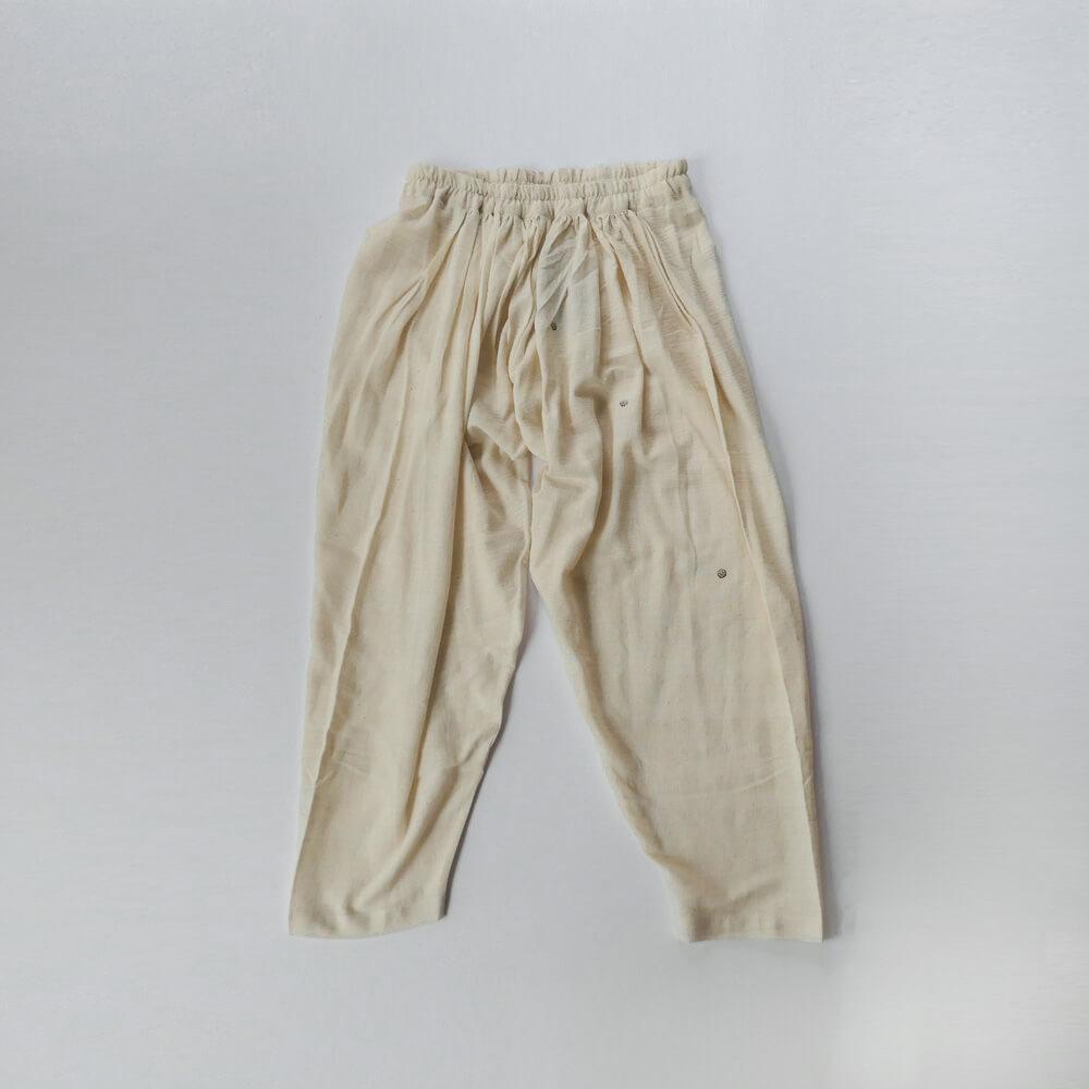 クロウ crow : gathered pants ギャザーパンツ
