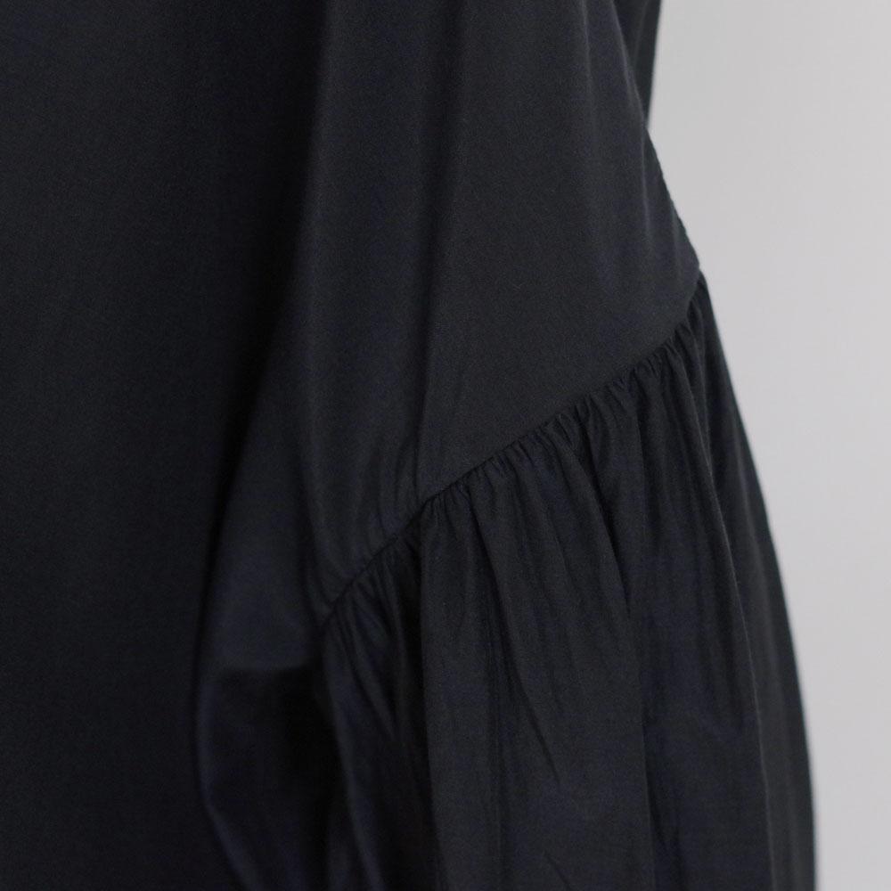 エコールドキュリオジテ ECOLE DE CURIOSITES : BASIL Silk cotton poplin ブラウス