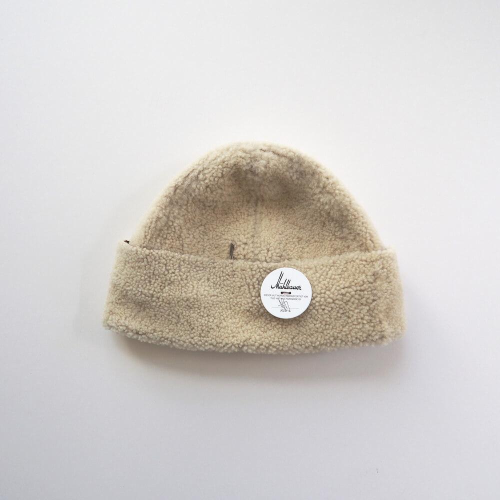ミュールバウアー Muhlbauer:cury lamb bonnet cap