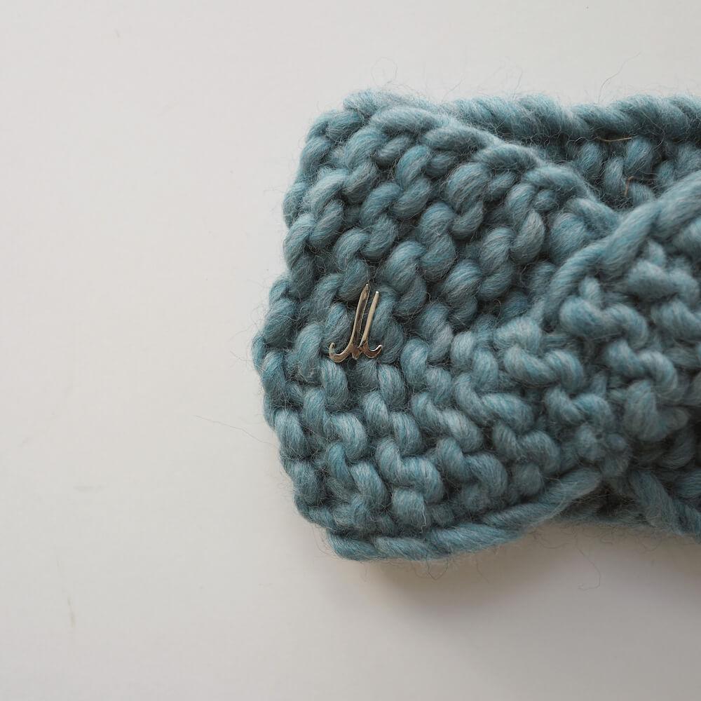 ミュールバウアー Muhlbauer:fat wool handknitted head band
