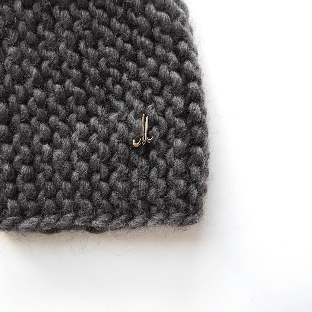 ミュールバウアー Muhlbauer:fat wool handknitted bonnet cap