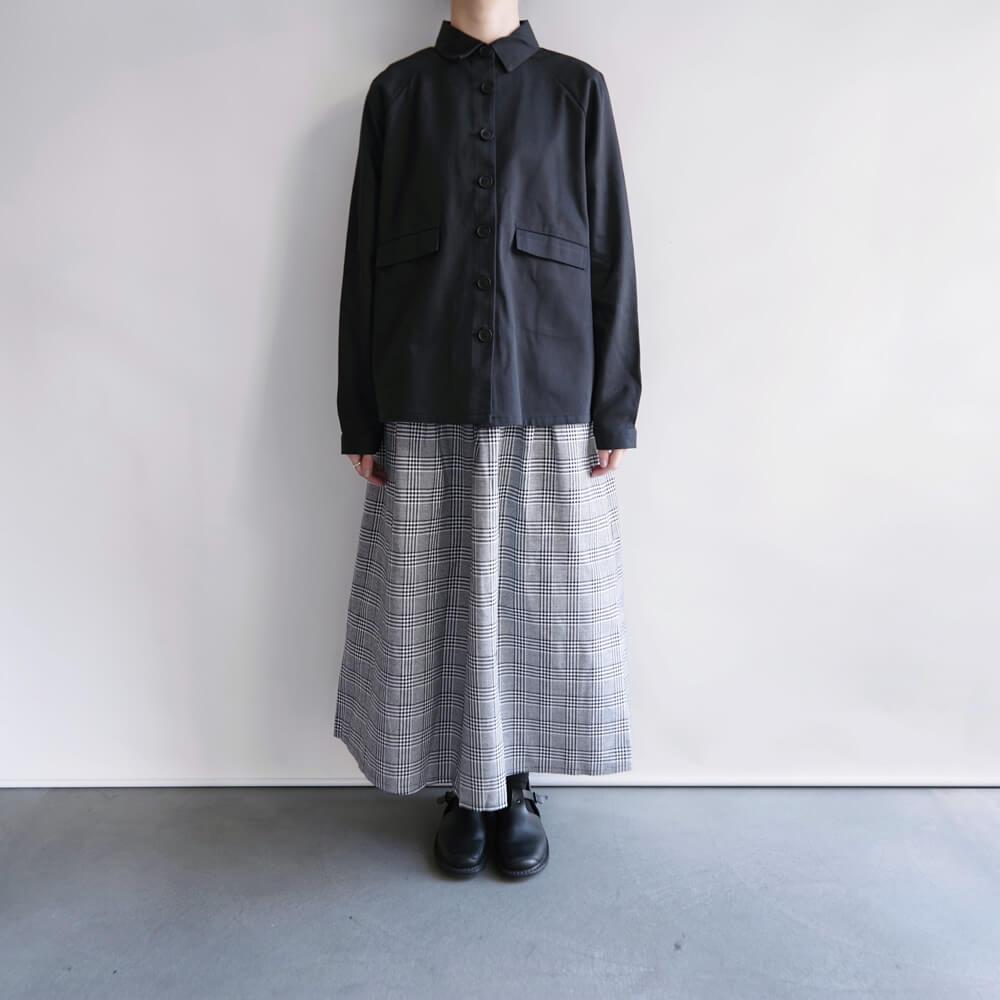 ケイトシェリダン Kate Sheridan :  A-LINE JACKET ブラックAラインジャケット