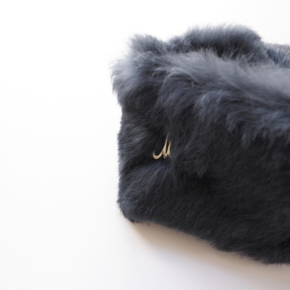 ミュールバウアー Muhlbauer:rabbit sheared head band