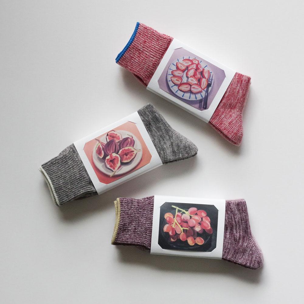 ババコ babaco : Botanical Dyed ソックス