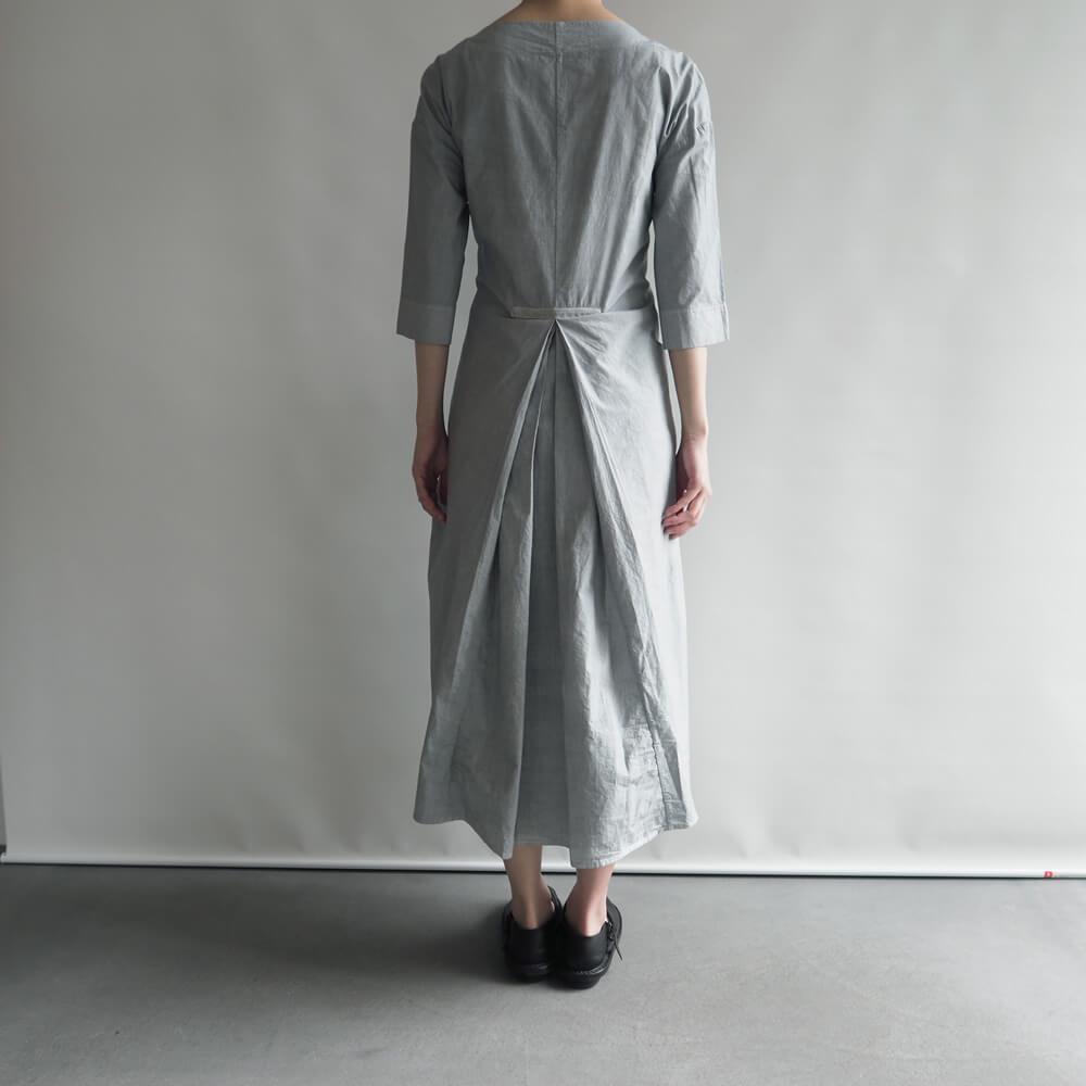 アッシュプリュス アノー ヴェセル H+ HANNOH WESSEL:DRESS Rose リボンワンピース