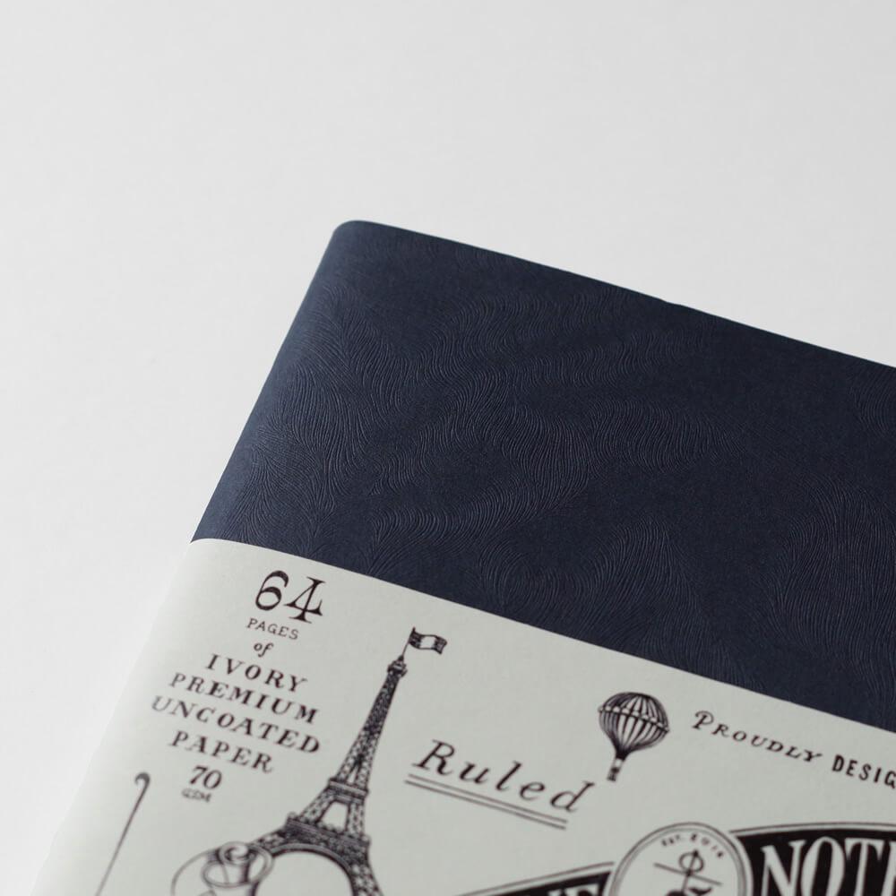 スムキン SOUMKINE : A5 CLASSIC NOTE IMPERIAL BLUE クラシック ノート (ブルー)