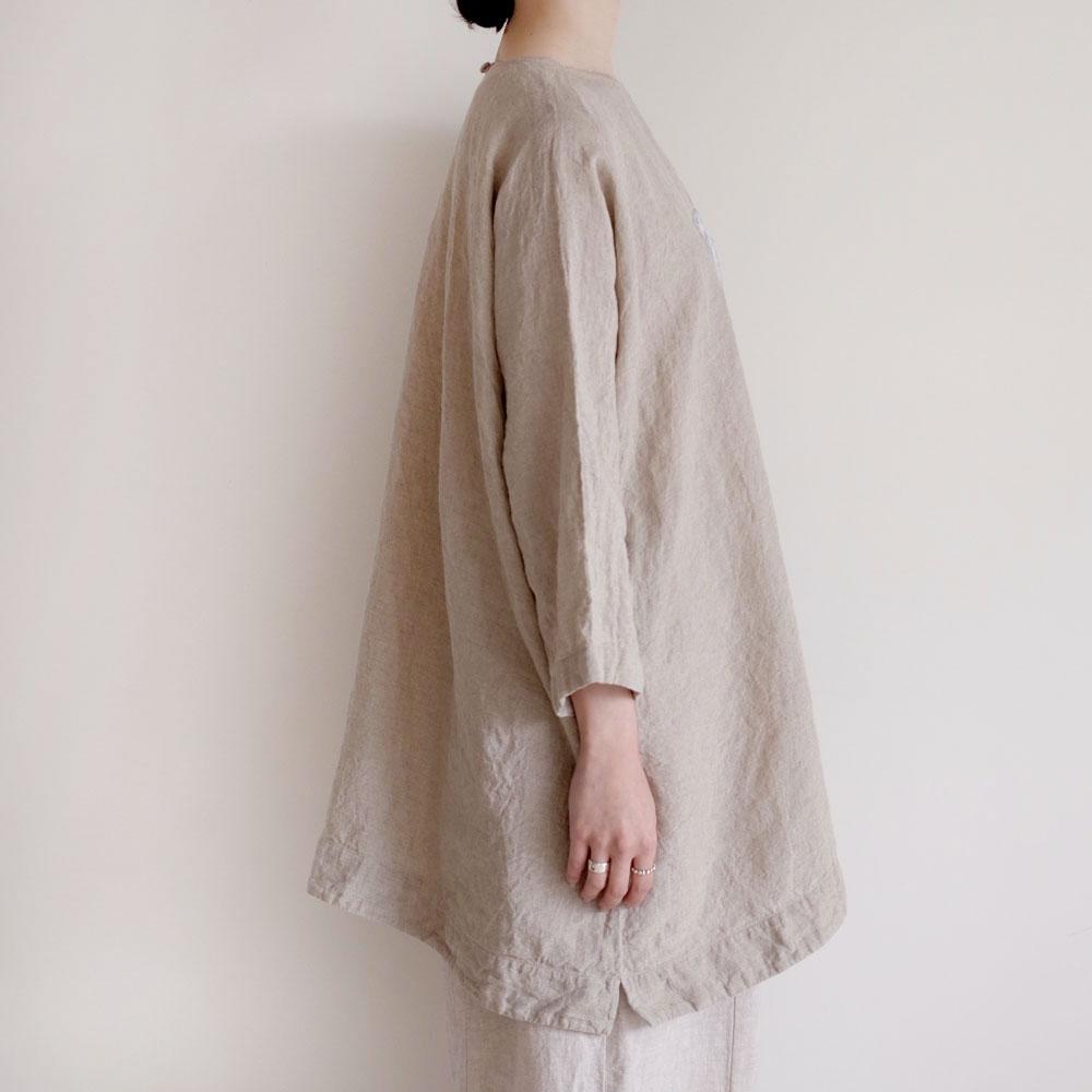 アオドレス AODRESS : 'BOX OF RAIN'embroidered blouse 刺繍ブラウス