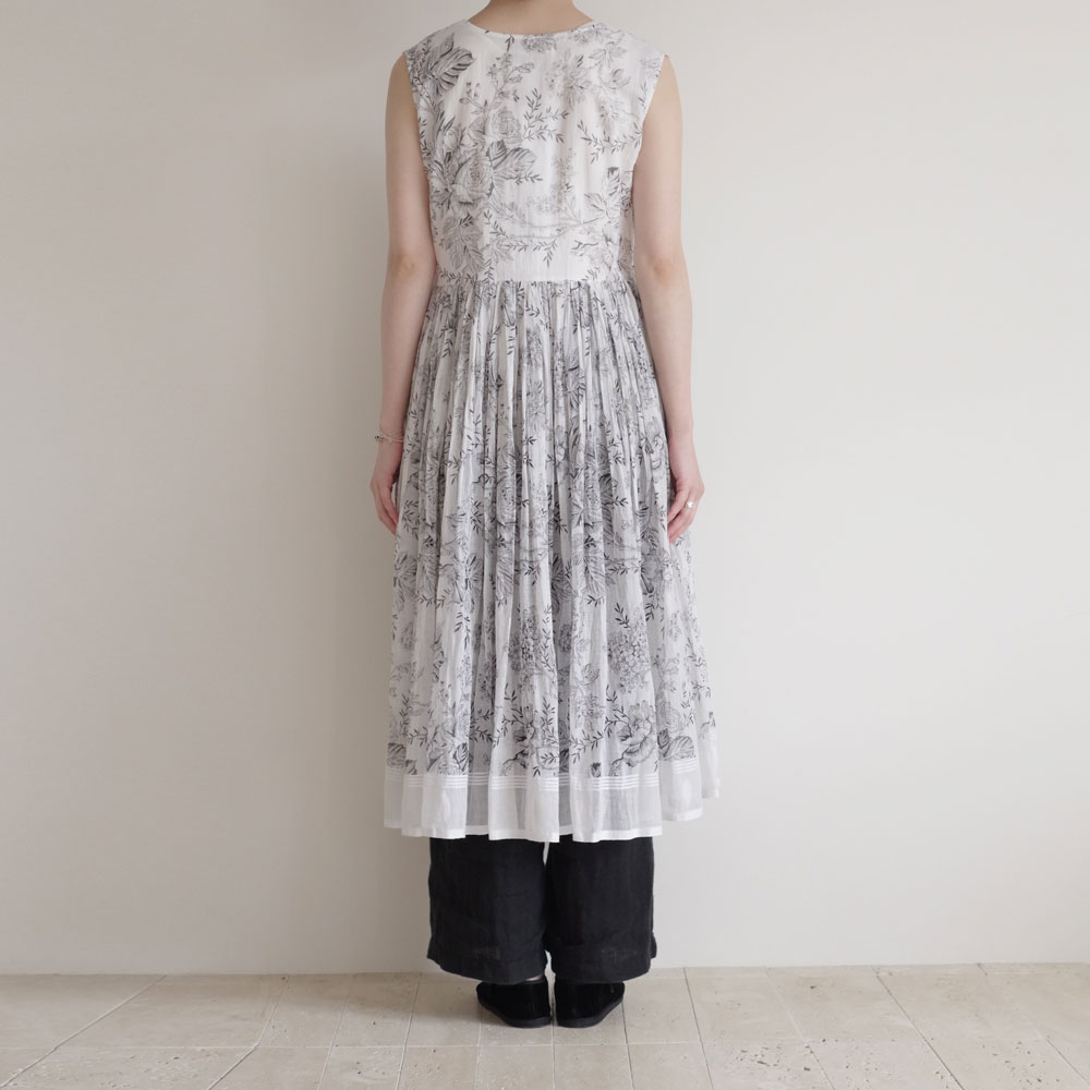 アオドレス AODRESS : Sleeveless anglaka dress カシュクールワンピース