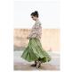 メッタメルボルン Metta Melbourne : HILL SHIRT コットンシャツ (Garden Floral)
