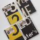スーキー SUKIE : VINTAGE BUS DESTINATION BLIND NOTEBOOK 8mm罫線 ノートブック