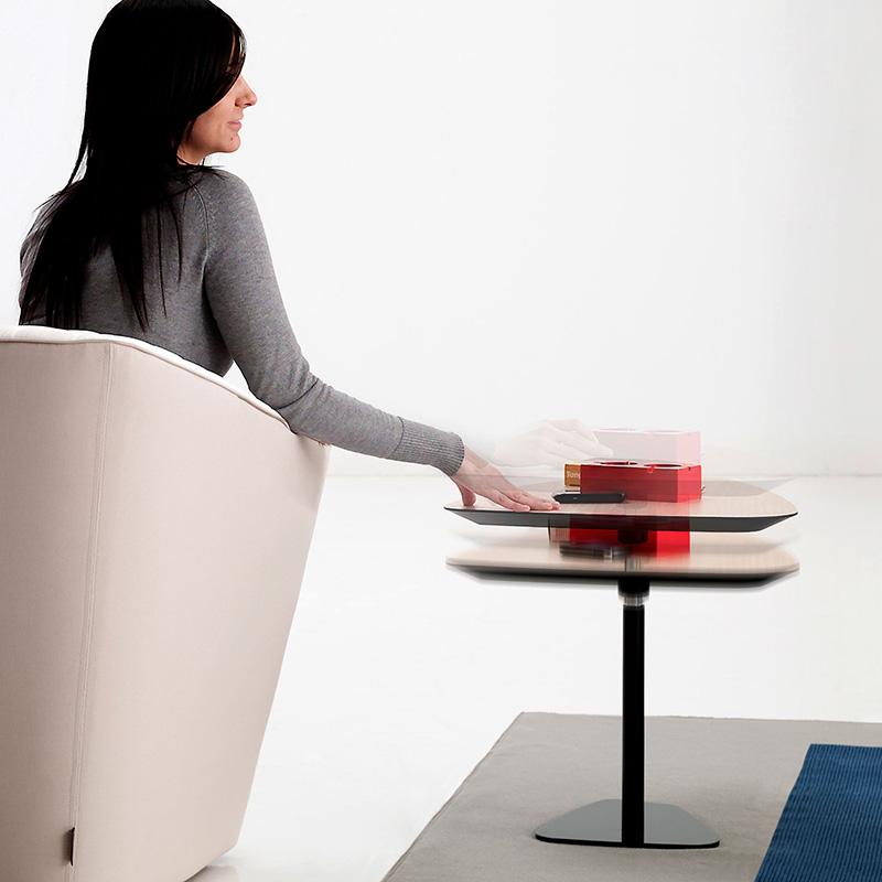 SANCAL テーブル ROCK LIFTING TABLE 62X48X39/60 265.76.GED