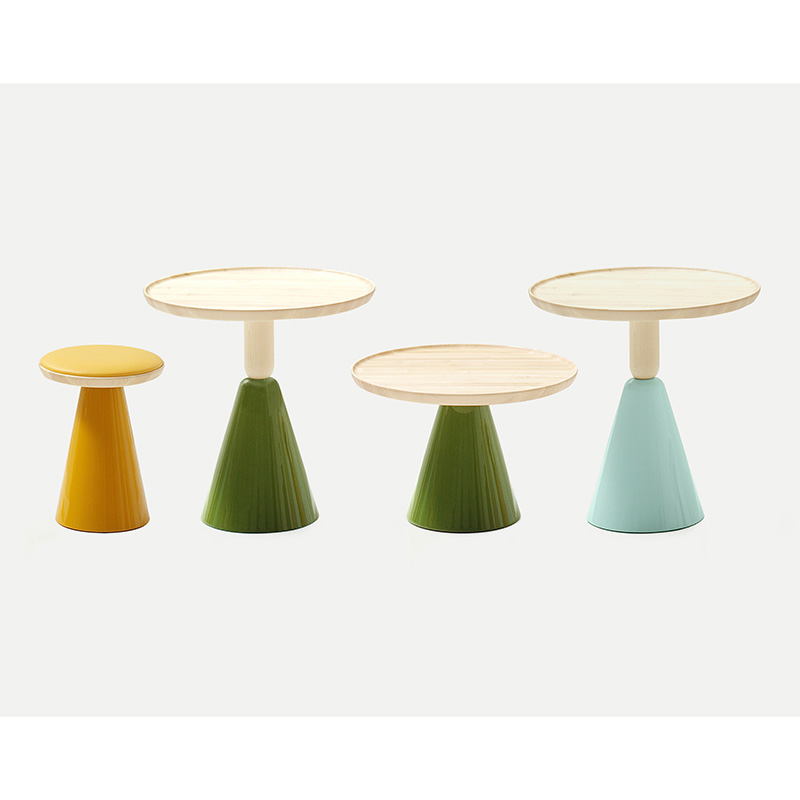 SANCAL テーブル PION OCCASIONAL TABLE D60X40 284.71.GE