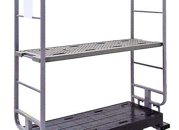 スーパースライドカート用樹脂製中間棚