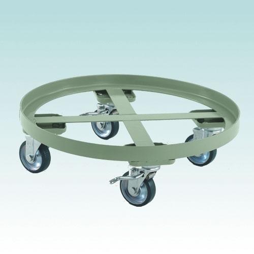 円形台車 全周ガイドタイプ ストッパー付 RC-300S