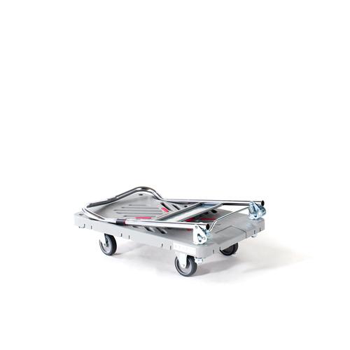 プラスチック台車 ダンディXシリーズ 折りたたみ式 サイレントキャスター ホールディングシステム(ゴム紐1本付) UXL-LSC-HS
