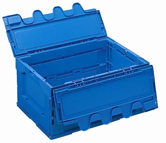 オリタタミコンテナー RP-40B(開閉蓋付) ブルー