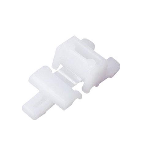 α折りたたみコンテナ CR-J(50Lタイプ・2枚フタ用ジョイント) 半透明