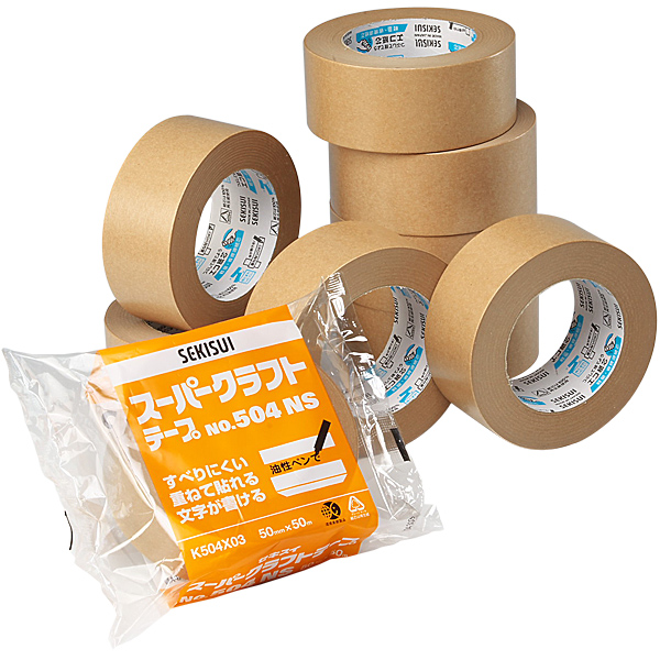 スーパークラフトテープ No.504NS 38mm×50m[60巻入]