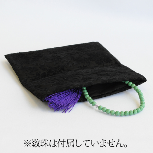 【山本仁商店】更紗文様の数珠入れ