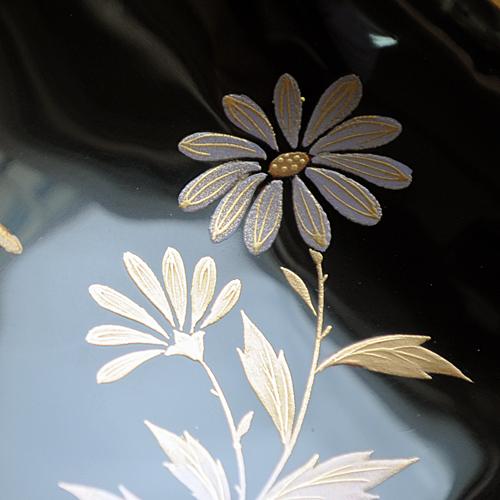 【奈良井志野】貝合せ 菊と蜻蛉