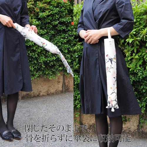 【家庭画報×今森光彦 オーレリアン企画】折畳傘(晴雨兼用)