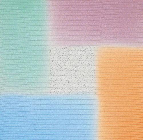 【宮井ふろしき】正絹絽ふろしき・桝取りぼかし(68cm幅)