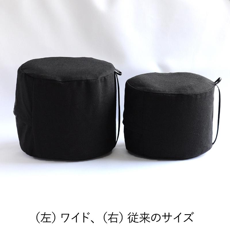 空気式正座椅子 座々丸 ブラック
