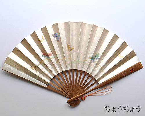 【宮脇賣扇庵】夏扇子 京凛扇(扇子袋付)