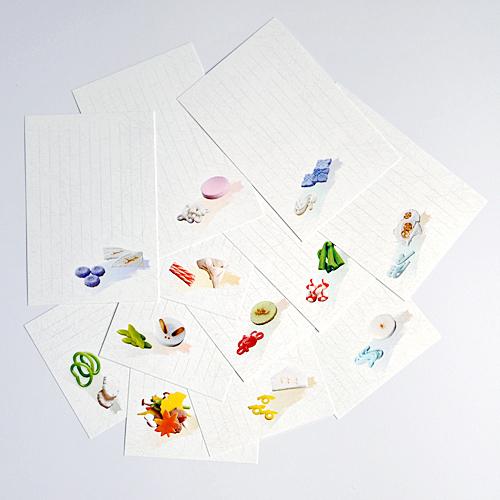 ポストカード 亀屋伊織の干菓子12ヶ月(12柄)