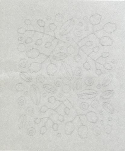 【アンドフィーカ】美濃和紙の透かし懐紙 森のベリー