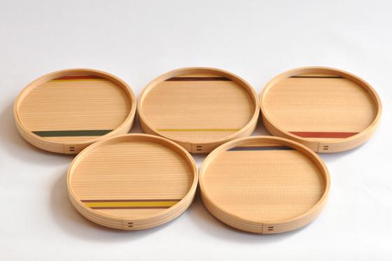 【くらふとばんしょう】銘々皿(5枚組)