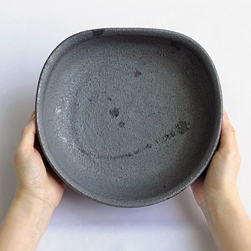 【加藤亮太郎】錆黒大鉢