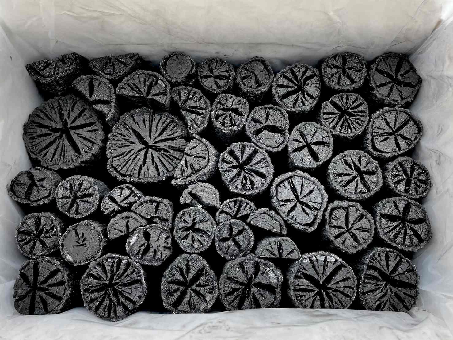 風炉用組炭 小箱(約2.3�)