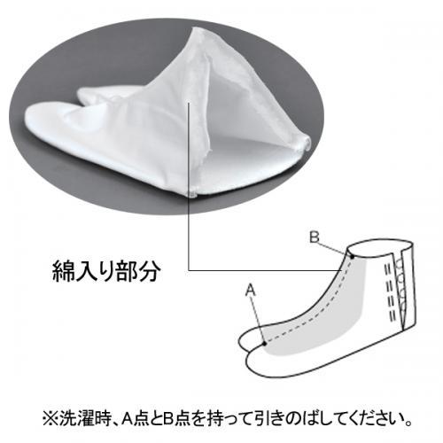 楽々正座足袋 (21〜24.5�)