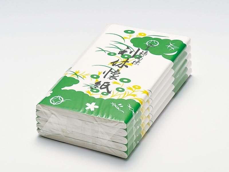 利休懐紙 (5帖)(女性用/男性用)