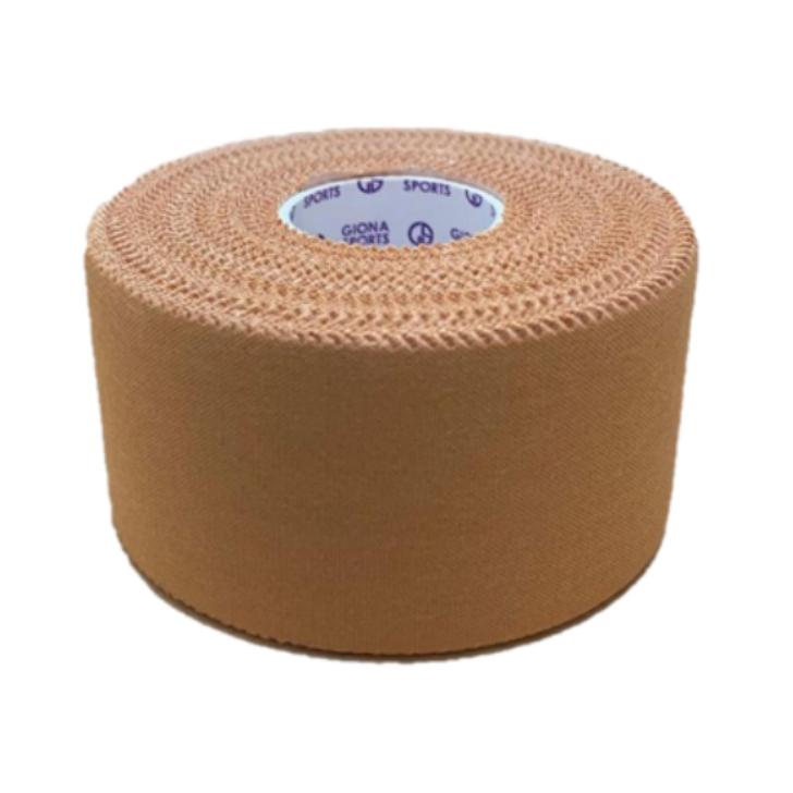 【強力】レーヨンスポーツテープ 38�×13.7m コンタクトスポーツに最適 固定力抜群 肌にやさしくかぶれにくい 激しく動かしても切れにくい