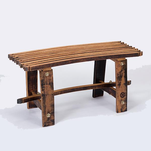 バレル背なしベンチ