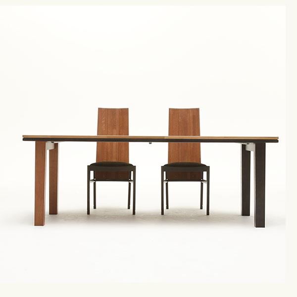 ブレンド ダイニングテーブル シェリー&グレーン 1500