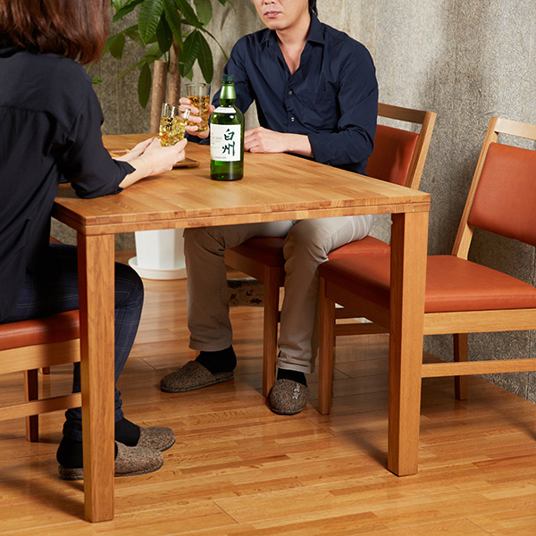 ダイニングテーブル グレーン(脚グレーン)