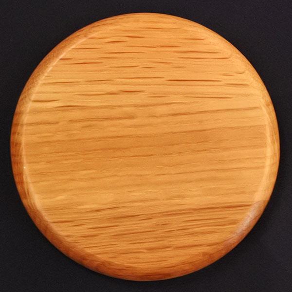 樽オークコースター丸型 (白州マーク)5枚セット