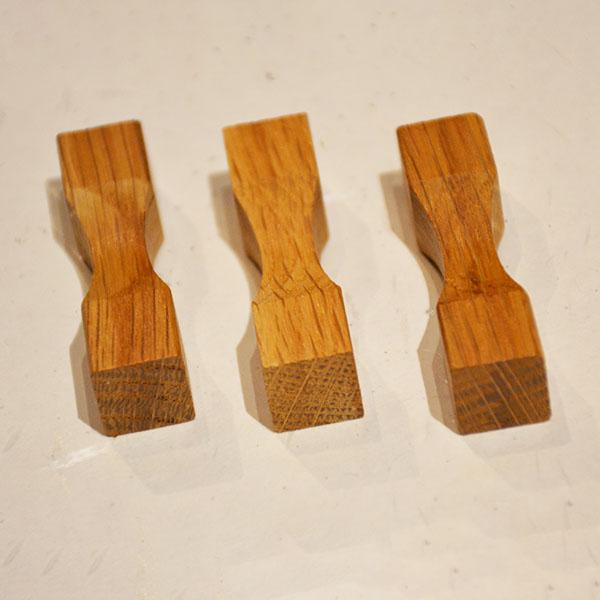 樽オーク箸置き角型