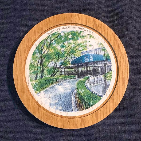 樽オークコースター彩(白州イラスト)