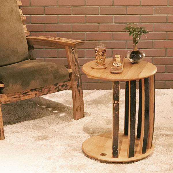 バレル 樽型サイドテーブル