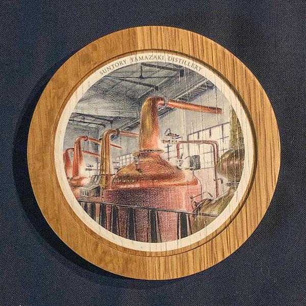 山崎蒸溜所の風景をたのしむタンブラーセット(ポットスティル)