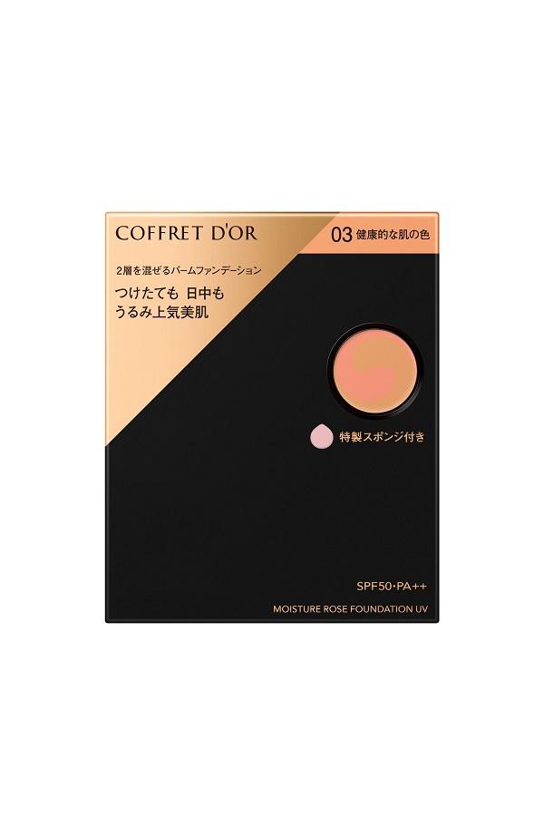 COFFRET D'OR モイスチャーロゼファンデーションUV 03