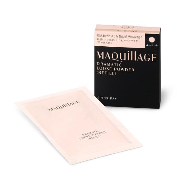 MAQuillAGE ドラマティックルースパウダー (レフィル) ナチュラルベージュ