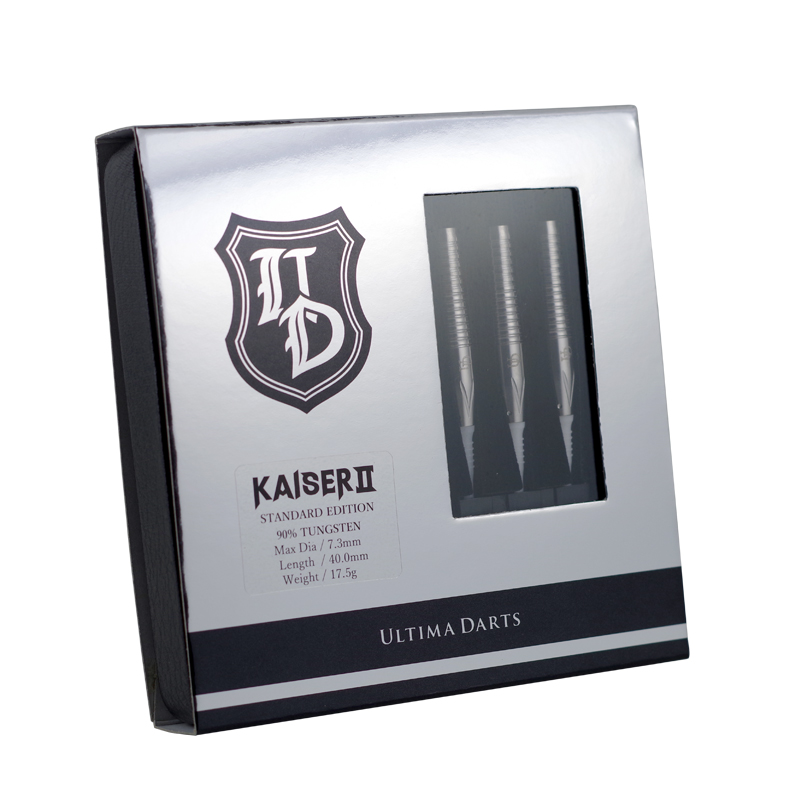 ULTIMA DARTS KAISER� STANDARD EDITION 2BA 17.5g 90% 荏隈秀一選手シグネチャーモデル [アルティマダーツ カイザー2 スタンダードエディション]