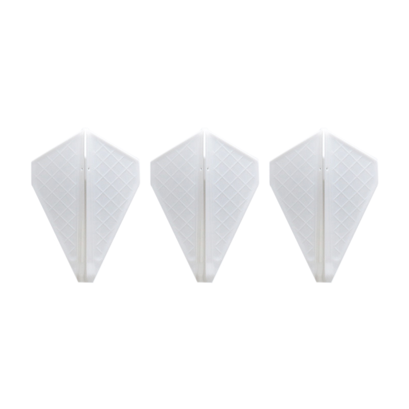 Fit Flight 【フィットフライト】 フィットフライト プロ V-3 ホワイト (Fit Flight Pro V-3 White) | 成型フライト