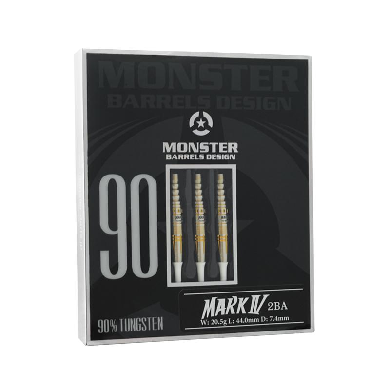 MONSTER DARTS【モンスターダーツ】 マーク4 小山マーク選手モデル (MARK� Tungsten90%)   ダーツ 2BAバレル 20.5g